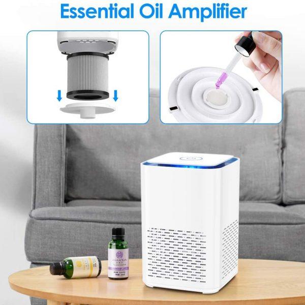 filtro Hepa Quared aromaterapia
