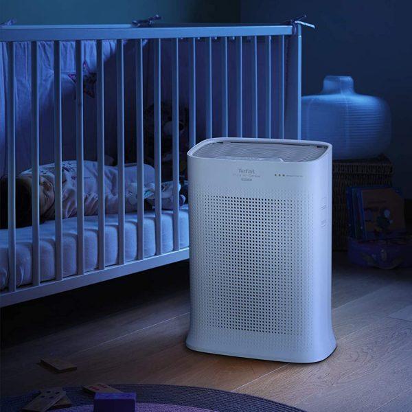 Filtro Hepa Rowenta conectado dormitorio